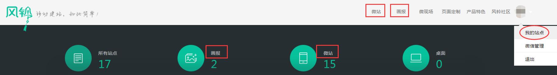 腾讯风铃建站:微站和画报有什么区别?